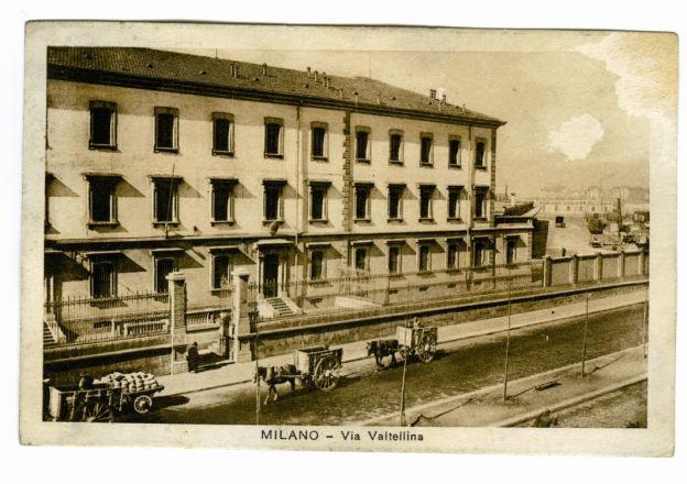 foto antica milano