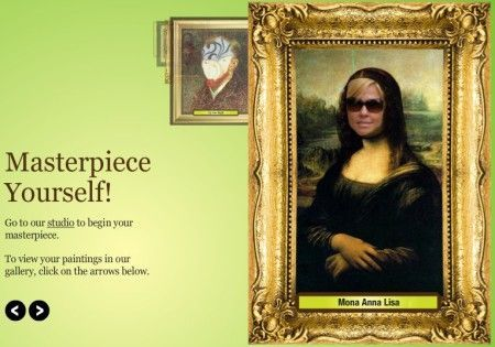 fotomontaggi gratis opere d arte masterpiece yourself