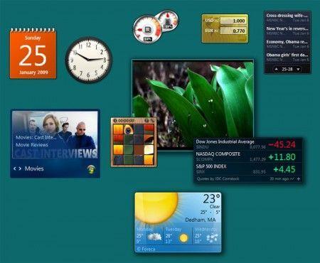 gadget windows 7