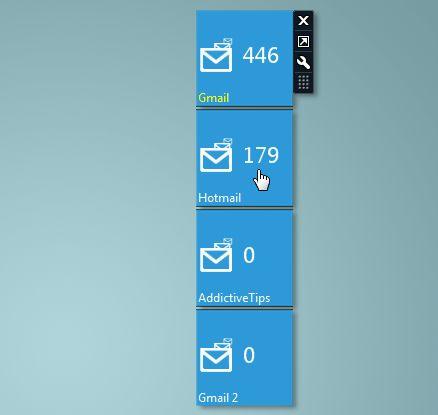 gagdet Windows mail