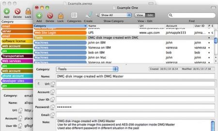 gestire password mac password repository
