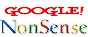 google nonsense