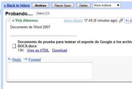 Google DOCX