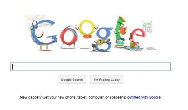 google doodle capodanno 2012