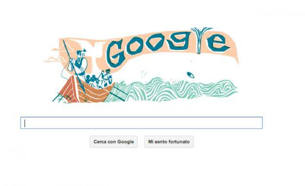 google doodle herman melville