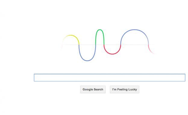 google doodle hertz