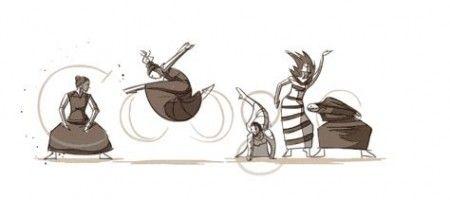 google doodle martha graham
