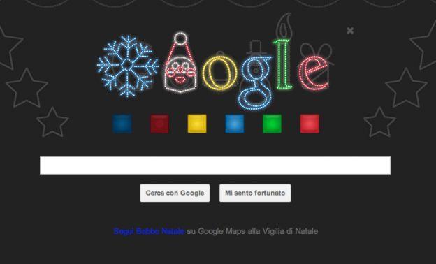google doodle natale