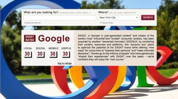 google ristoranti acquisizione zagat