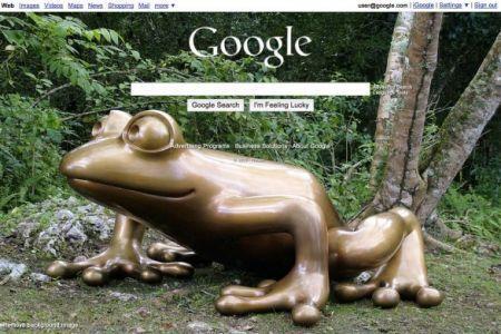 Google e lo sfondo personalizzato