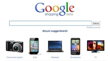 google shopping italia