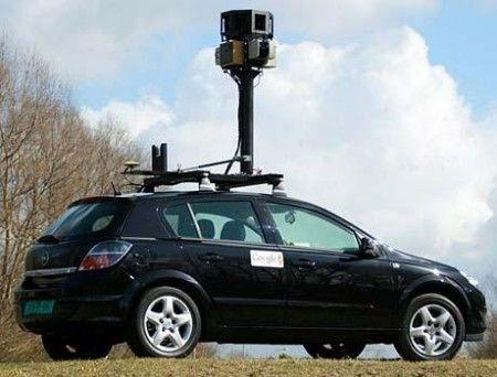google street view car 2
