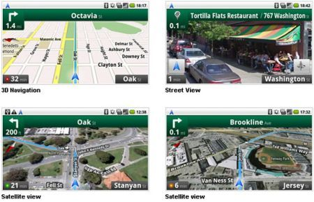 Google Maps Navigation iPhone
