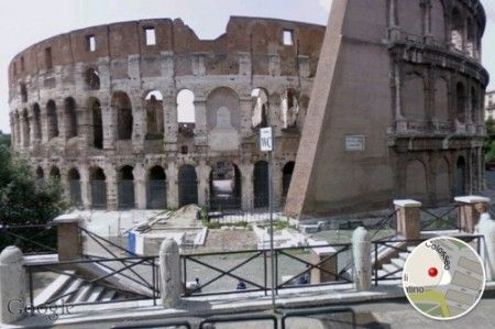 google street view ios roma