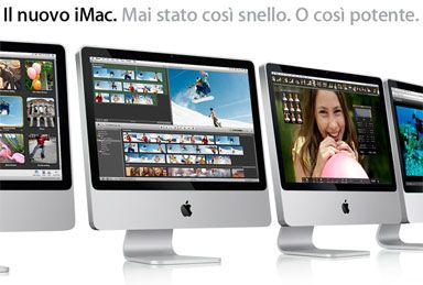 La home page di Apple Italia