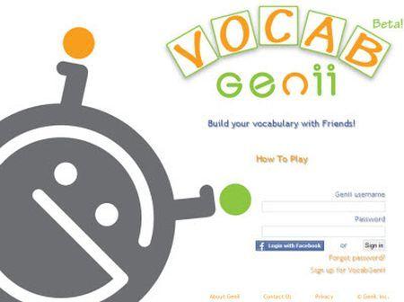 imparare inglese online vocab genii