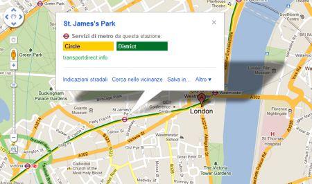 info londra googlemaps