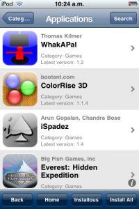 Installare applicazioni su iPhone/iPod Touch con jailbreak