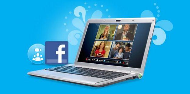 integrare facebook skype