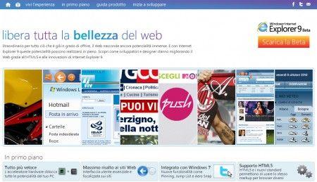 internet explorer 9 la bellezza del web