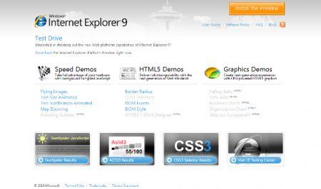 Internet Explorer 9 Canvas