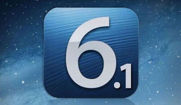 ios apple aggiornamento 6 1