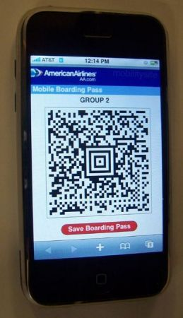 iPhone American Airlines