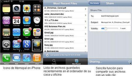 MemoPal iPhone