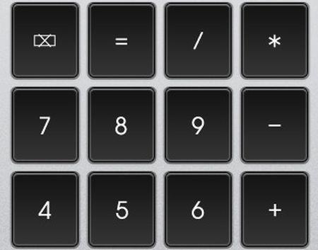 iphone tastierino numerico wireless