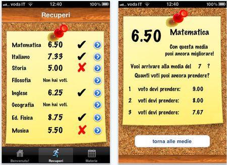 iscuola app iphone studenti