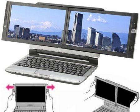 Laptop dualscreen xx