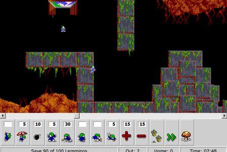 lemmings browser game