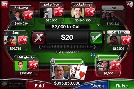 live poker iphone