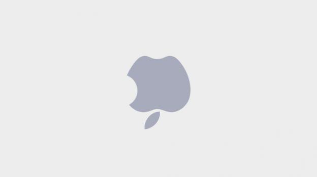 logo apple sottosopra laptop mac