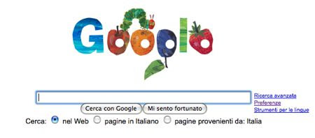 Google logo 21 marzo