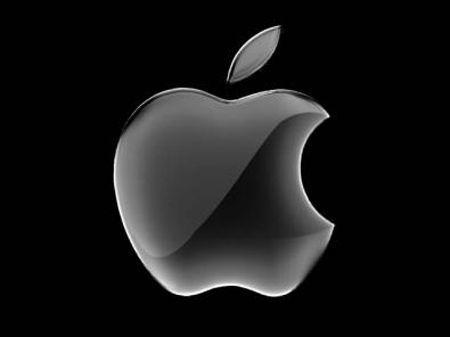 Logo Apple Nero