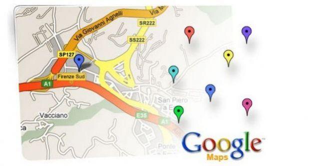 mappe google salvare