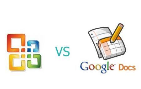 Microsoft Office Google Docs DocVerse