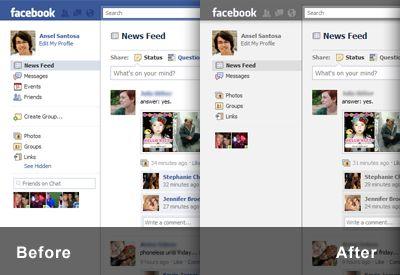 minimalist for facebook