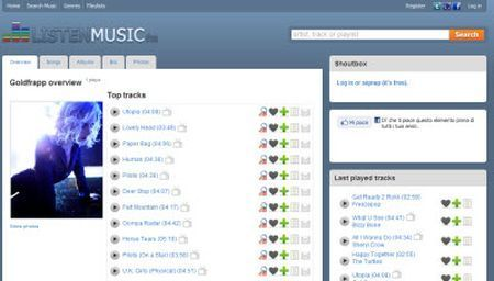 musica in streaming