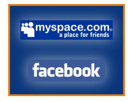 Facebook MySpace