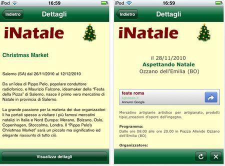 natale 2010 app iphone
