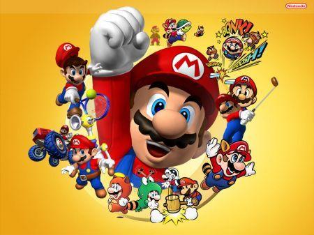Nintendo Wii Mario Bros