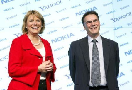 Nokia Yahoo