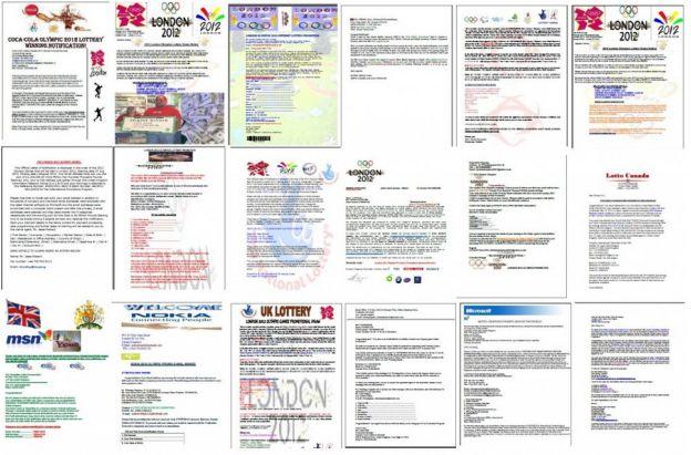 olimpiadi 2012 mail truffa