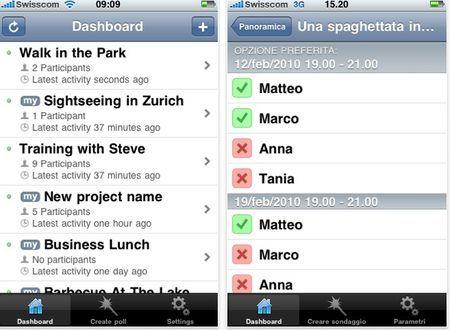 organizzare appuntamenti iphone doodle