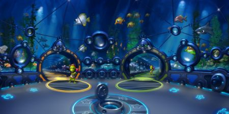 Zed: gioco virtuale Planet 51 Online