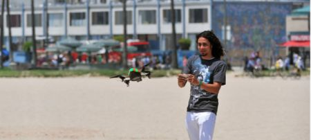 parrot quadricopter