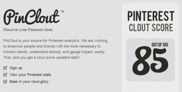 pinterest app pinclout
