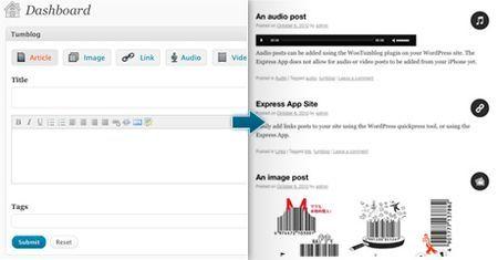 plugin wordpress blog tumblr wootumblog